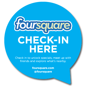 Check in here - Foursquare