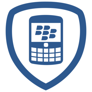 En av Blackberrys Foursquare-badges