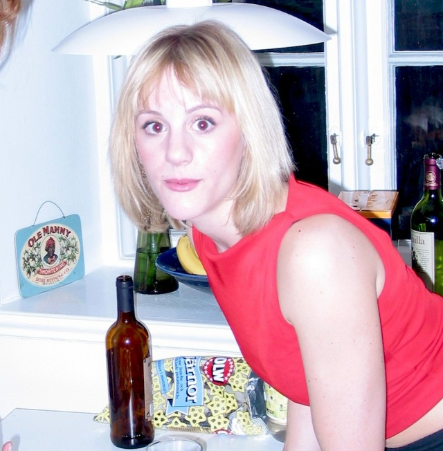 Jag i april 2003