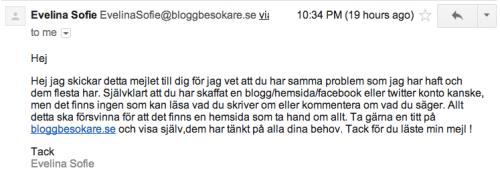 Mejl från bloggbesokare.se