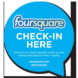 Check in here - Foursquare