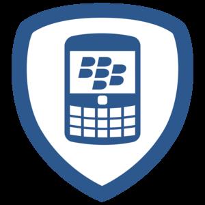 En av Blackberrys Foursquare-badges
