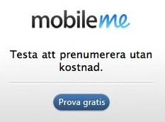 MobileMe lyckas bättre med copyn på webben