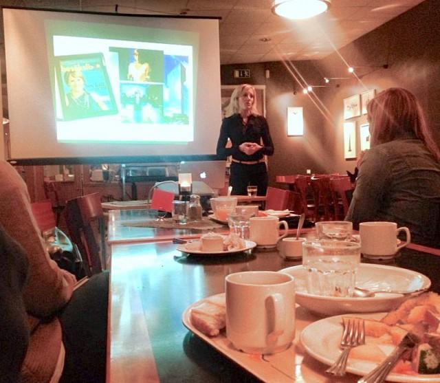 Idag höll jag en presentation för Marknadsföreningen i Dalarna. Värd för kalaset var mysiga Scandic Lugnet.
